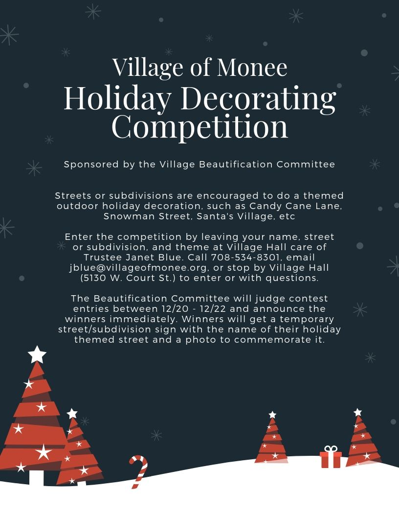 First Annual Holiday Decorating Competition 2018